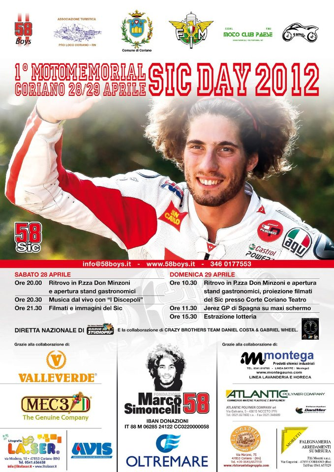Motomemorial SIC Day 2012