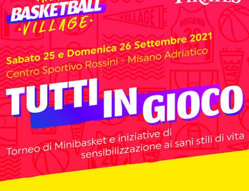 Tutti in gioco: nuovo appuntamento con il basket a Misano Adriatico